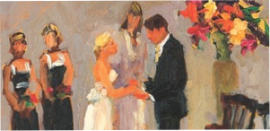 Joan Zylkin Wedding Painter
